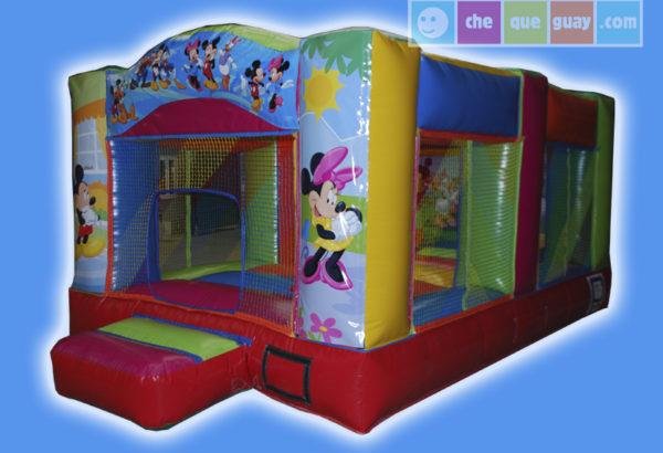 Basico 14 3×5 Mickey Mouse Castillos Hinchables Valencia