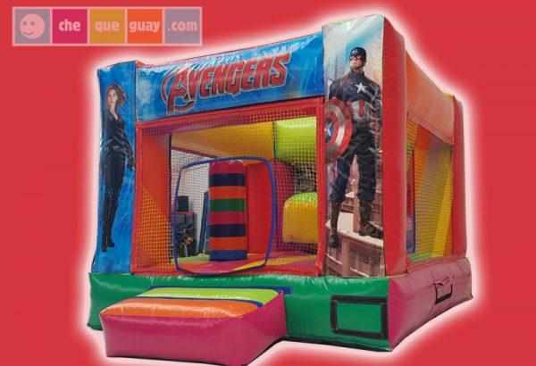 Basico 24 3×3 Heroes Castillos Hinchables Valencia