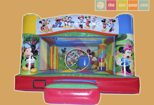 basico-9-mickey-mouse Castillos Hinchables Valencia