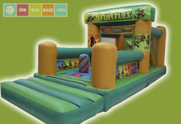 Castillo 3×6 Tortugas Ninja Castillos Hinchables Valencia