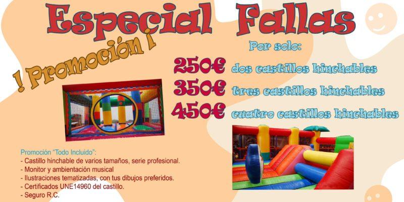 Castillos hinchables Valencia Catalogo Fallas 2016 web