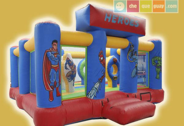heroes-5×5 Castillos Hinchables Valencia