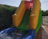 Tobogán acuático Multicolor Castillos hinchables Valencia