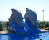 Tobogan-delfin Castillos Hinchables Valencia