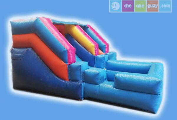 Tobogan acuatico Disney 3×3 Castillos Hinchables Valencia