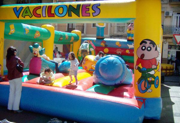 Vacilones 7×8 Castillos Hinchables Valencia